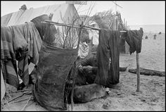 Robert Capa - France. Argeles-sur-Mer. March 1939. Republican soldiers in an internment camp for Spanish refugees.