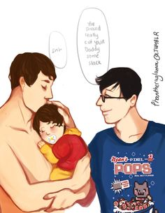 parent!phan - succumb to the nerds/ IT'S OK, I DIDN'T NEED MY HEART ANYWAY jfc
