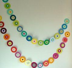 Guirnaldas para decorar | Aprender manualidades es facilisimo.com