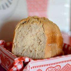PANE ALLE NOCI CON LA MACCHINA DEL PANE - Cucina Green Bread And Roses, Plum Cake, Italian Recipes, Bread Recipes, Bakery, Cooking, Easy, Pane Pizza, Food
