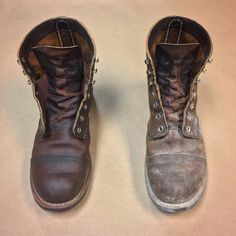 Red Wing 8111, Preston Garvey, Red Wing Iron Ranger, Red Wing Boots, Iron Rangers, Leather Shoes, Combat Boots, Shoe Boots, Mens Fashion