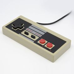 1x 8 Bit Gaming Controller Control PAD Gamepad For Nintendo NES System