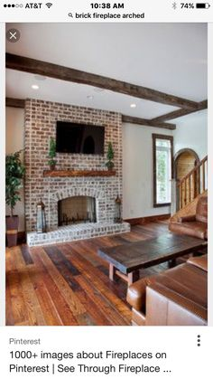 93 Best Brick Fireplace And Wall Ideas Images Fire Places Brick