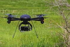 Draganflyer X4-ES UAV used by RCMP (Royal Canadian Mounted Police) helps locate injured man