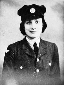 Usually known as Noor Inayat Khan (but also as Nora Baker[1] and Madeleine[2]), she was of Indian Sufi origin. As a British Special Operations Executive agent during the Second World War, she became the first female radio operator to be sent into occupied France to aid the French Resistance.