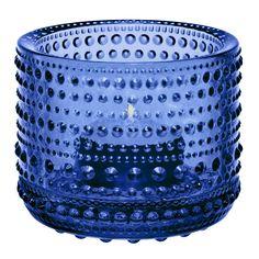 Kastehelmi Ljuslykta 6,4cm, Ultramarin Blå, Iittala