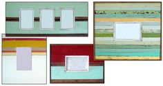 Destinations collection of recycled wood frames from Romany Stone