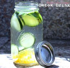Apple Cider Vinegar Detox Drink  #SugarFreeFairy