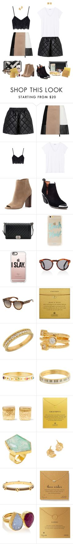 """""""Well well well..."""" by audrey-balt ❤ liked on Polyvore featuring STELLA McCARTNEY, Alexander Wang, Sam Edelman, Jeffrey Campbell, Chanel, Sonix, Casetify, Illesteva, SALT. and Lord & Taylor"""