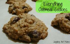 Juggling Act: Everything Oatmeal Cookies