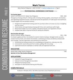 Resume Types Modern Resume  Resumes & Cv  Pinterest  Modern Resume And Modern