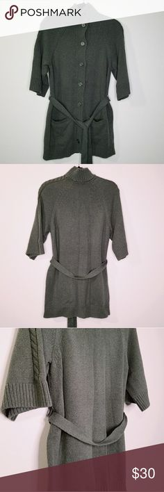 75c257ffa0 Caslon Half Sleeve Knit Cardigan Caslon knit cardigan Half sleeve Poskets  and belt It is on