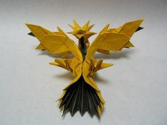 Advance Origami Pokemon - http://www.ikuzoorigami.com/advance-origami-pokemon/