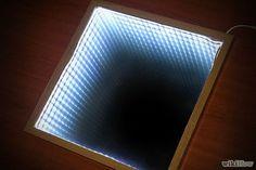 Cómo hacer un espejo infinito: 17 pasos (con fotos)