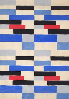 MID-CENTURIA : Art, Design and Decor from the Mid-Century and beyond: Sonia Delaunay Exhibit: Color Moves