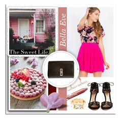 """""""The Sweet Life..Bella Eve"""" by melissa-de-souza ❤ liked on Polyvore featuring Clinique, Gianvito Rossi, Proenza Schouler and BellaEveBoutique"""