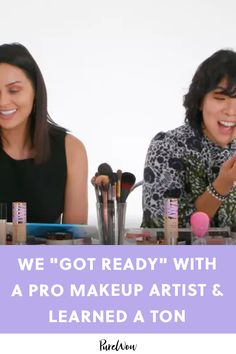 We 'Got Ready' with a Pro Makeup Artist and Learned Way More Than We Expected Drugstore Makeup Dupes, Beauty Dupes, Beauty Makeup, Beauty Products, Beauty Hacks, Makeup Products, Face Makeup, Sephora Makeup, Natural Everyday Makeup