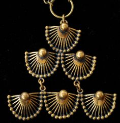 Vintage Modernist Pentti Sarpaneva Bronze Necklace Turun Hopea Finland | eBay
