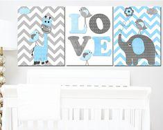 Nursery Sets, Baby Boy Nursery Decor, Baby Room Art, Baby Wall Art, Baby Boy Nurseries, Baby Room Decor, Art Wall Kids, Happy Easter Banner, Playroom Art