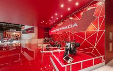 Ducati stand by POINT studio, Milan, Cologne exhibit design