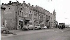 Zástavba na križovatke ulíc Levočská a Sabinovská kedysi musela ustúpiť hotelu Šariš, zďaleka nie takto pôvabnému. Street View