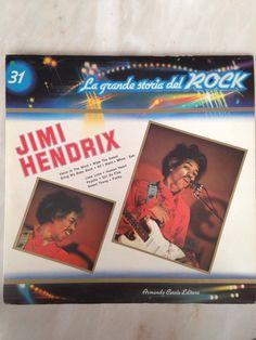 Jimi Hendrix La Grande Storia Del Rock 31 1st Press 1981 Italy LP Record VG++/NM Vinyl Album by WutTheFind on Etsy