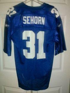 Nike jerseys for wholesale - Jeremy Shockey men's size 58 New York Giants red alternate jersey ...