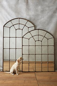 Paneled Epoque Mirror #anthropologie Tall mirror would look great on front living room mantle. Love!!!