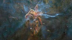 3-D Trip into the Carina Nebula [HD Video]   Flickr - Photo Sharing!