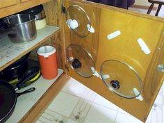 19. Don't have enough storage for pots and pans? Think again