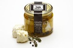 Meredith Dairy Goats Cheese in Extra Virgin Olive Oil So-oh-so Good.