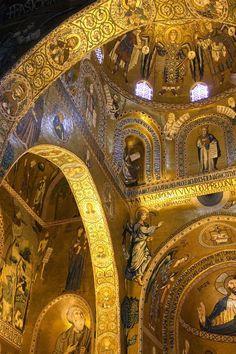 Cappella Palatina. Palazzo Reale, Palermo, Sicily #visitsicily #art