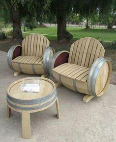 Recycling old barrels