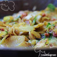 Low Carb Rezept für gebratenen Kohlrabi (falsche Bratkartoffeln). Wenig…