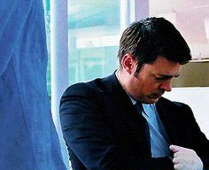 """"""" No, I should be home on time tonight."""" Karl Urban as Agent Cooper in RED. I love this movie."""