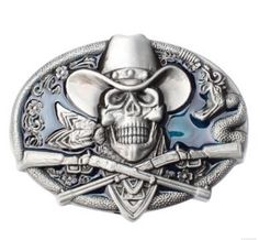 Browning and Skull belt buckle 3 colors - Boucle de ceinture Browning et  Crâne 3 coloris 894c22b5552