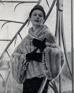 1950 Fur coat