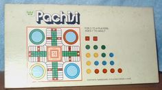 Pachisi game...this is the same version (1974) as the one I had.