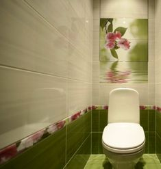 стены в туалете