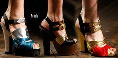 Devillish Prada @ Milan Fashion Week Fall 2013 #theeshoecloset