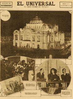 """En 1934 la inauguración del Palacio de Bellas Artes causó una gran expectativa en el país porque nació en un contexto económicamente complejo que propició detractores que acusaban de """"fastuoso derroche"""". FOTO: Cortesía INBA"""