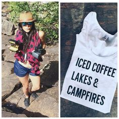 After a blissful week of well, iced coffee, lakes, and campfires I am especially  stoked to be popping up @firesidecampsupply this Friday. Come on down and grab some gear for your next adventure or just sip some whiskey and snag a Polaroid ⛺️ #firstfriday #photobooth #polaroid #popuppolaroid #instabooth