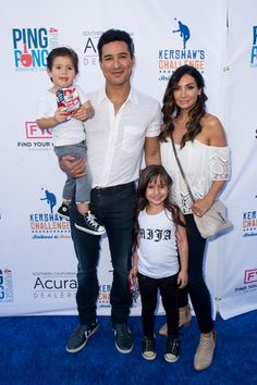 Pin for Later: In Case You Had Any Doubts, Mario Lopez's Kids Are Freakin' Adorable