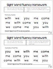 Time 4 Kindergarten: Parental Involvement with Homework