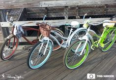 Go ride like it's a vacation day everyday! Cruiser Bikes, Beach Cruisers, Go Ride, Vacation Days, Vintage Bikes, Panama, Bicycle, Antique Bicycles, Vintage Motorcycles