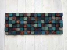 Madera de la pared arte escultura de la pared de por WallWooden