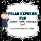 All the little kiddos will enjoy the Polar Express themed activities that are included in this unit.  They are certain to be engaged and having fun...