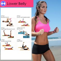 www.californitraining.com Fitness workouts for women. ABS Workouts #abs #fitness #women #workout #workoutcharts