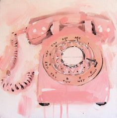 pink telephone // james paterson