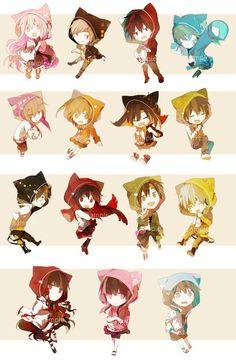 kagerou project all Manga Anime, Anime Chibi, Kawaii Anime, Anime Art, Pokemon, Chinese Cartoon, K Project, Kagerou Project, Actors
